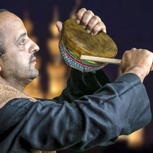drum call for suhoor (Ramadan in Egypt)