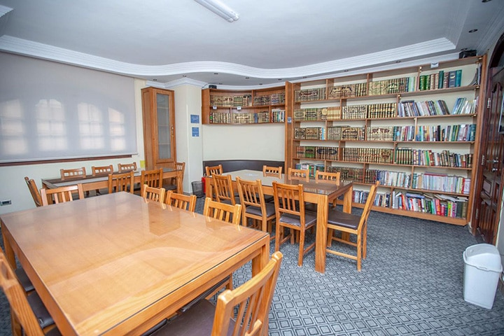 campus study center class room